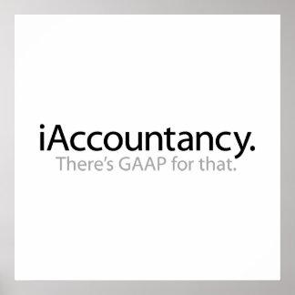 i contabilidad - hay GAAP para eso Póster
