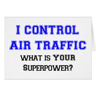 I control air traffic card