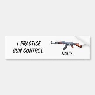 I control de PracticeGun, diario Pegatina Para Auto