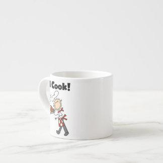 I Cook - Male Chef Espresso Cups