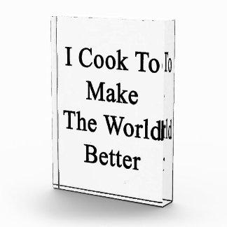 I Cook To Make The World Better Award