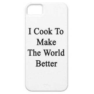 I Cook To Make The World Better iPhone 5 Case