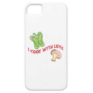 I Cook With Love iPhone 5 Cases