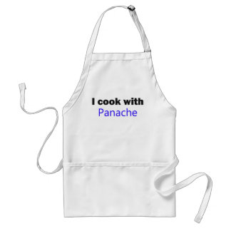 I Cook With Panache Apron