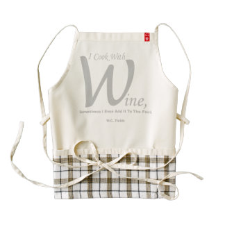 """""""I Cook With Wine"""" HEART Apron"""