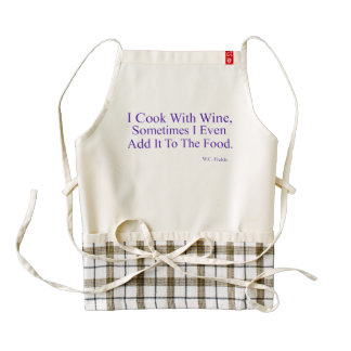 I Cook With Wine HEART Apron