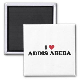 I corazón Addis Abeba Etiopía Imán Cuadrado