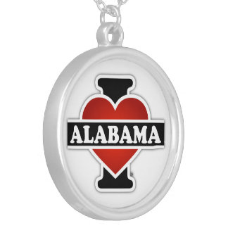 I corazón Alabama Colgante Redondo