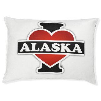 I corazón Alaska Cama Para Perro Grande