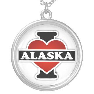 I corazón Alaska Colgante Redondo