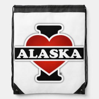 I corazón Alaska Mochilas