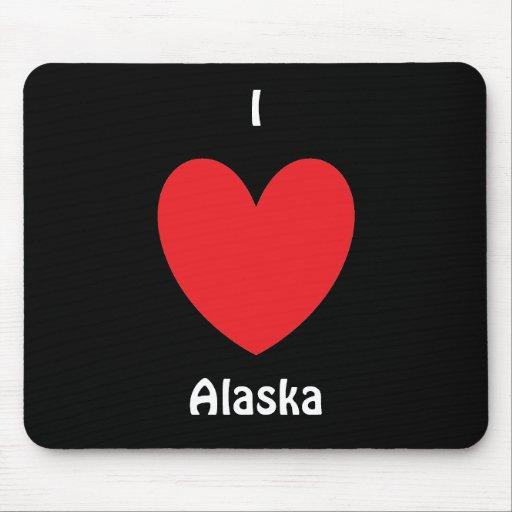 I corazón Alaska Mousepad