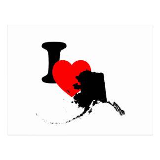 I corazón Alaska Postal
