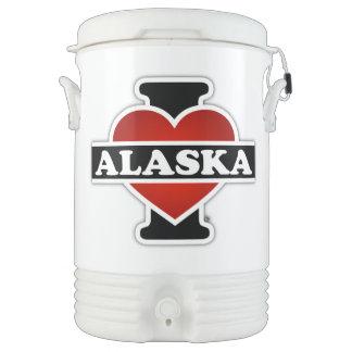 I corazón Alaska Vaso Enfriador Igloo