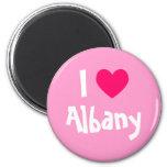 I corazón Albany Imanes