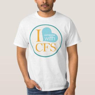 I {corazón} alguien con el CFS Playera