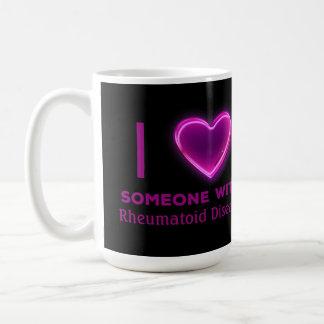 I corazón alguien con (USTED TIPO AQUÍ) Taza De Café