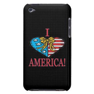 I corazón América iPod Touch Case-Mate Fundas