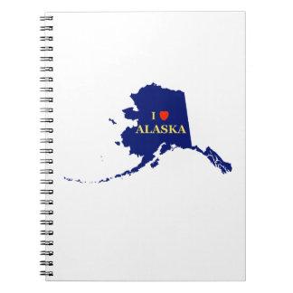 I corazón (amor) Alaska Note Book