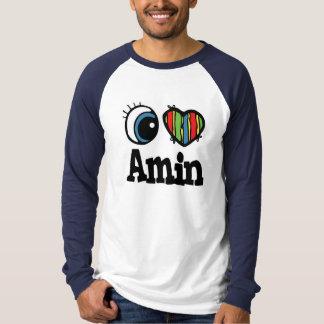 I corazón (amor) Amin Playera
