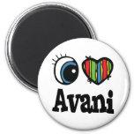 I corazón (amor) Avani Imanes