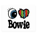 I corazón (amor) Bowie Postales