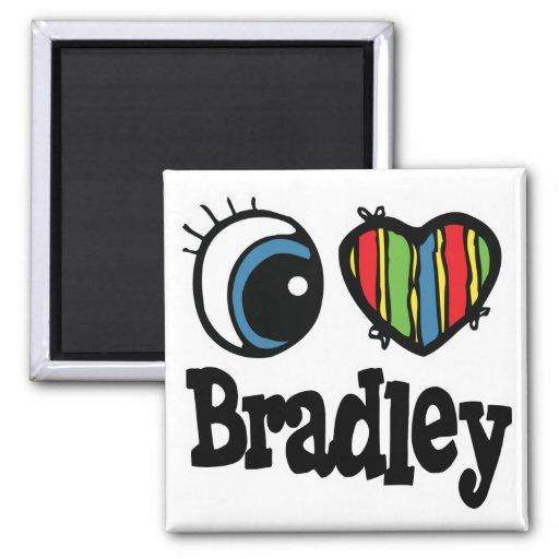 I corazón (amor) Bradley Iman De Frigorífico