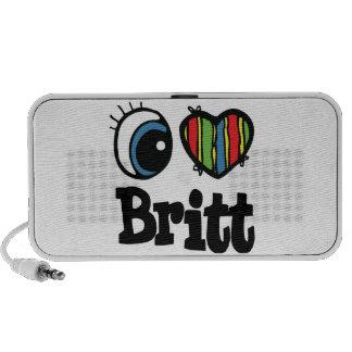 I corazón (amor) Britt Mini Altavoz