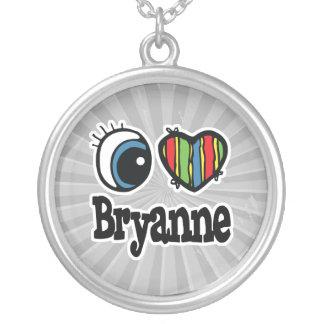 I corazón (amor) Bryanne Colgante Redondo