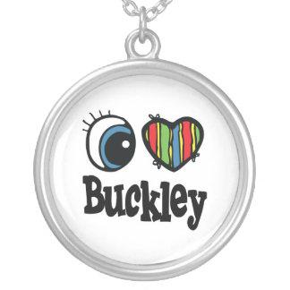 I corazón (amor) Buckley Colgante Redondo