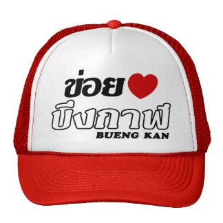 I corazón (amor) Bueng Kan, Isan, Tailandia Gorra