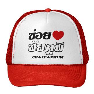 I corazón (amor) Chaiyaphum, Isan, Tailandia Gorras De Camionero