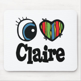 I corazón (amor) Claire Tapetes De Ratones