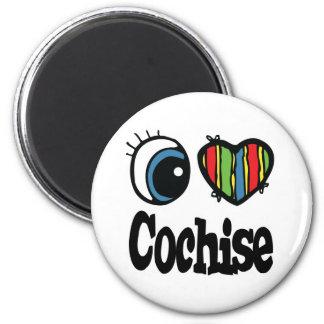 I corazón (amor) Cochise Imán Redondo 5 Cm