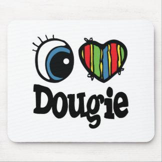 I corazón (amor) Dougie Alfombrillas De Ratón