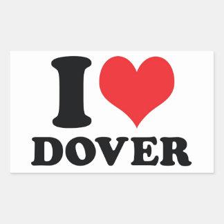 I corazón/amor Dover Rectangular Altavoz