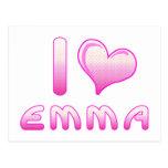 I corazón/amor Emma Postal