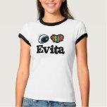 I corazón (amor) Evita T Shirt