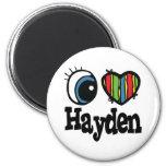 I corazón (amor) Hayden Iman De Frigorífico