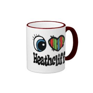I corazón (amor) Heathcliff Taza De Dos Colores