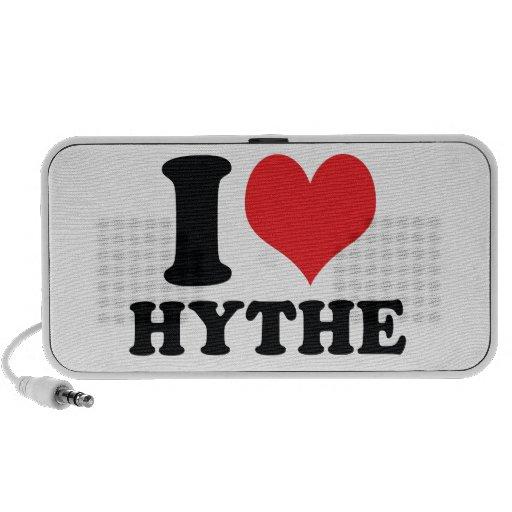 I corazón/amor Hythe iPhone Altavoz