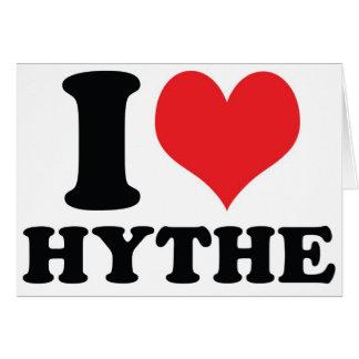 I corazón/amor Hythe Felicitación