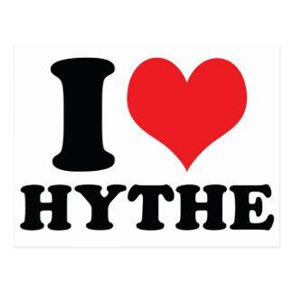 I corazón/amor Hythe Postal