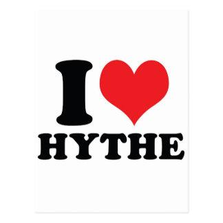 I corazón/amor Hythe Postales