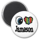 I corazón (amor) Jameson Iman De Frigorífico