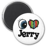 I corazón (amor) Jerry Iman Para Frigorífico