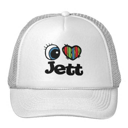 I corazón (amor) Jett Gorra