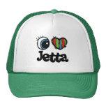 I corazón (amor) Jetta Gorras
