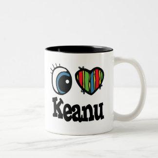 I corazón (amor) Keanu Tazas