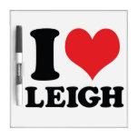 I corazón/amor Leigh Pizarras Blancas